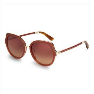 NWT TOMs Lottie Sunglasses In Spice